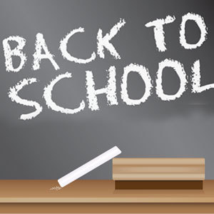 Free Back To School Blackboard Sign