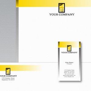 Free Vectors: Stationery Design Template | Brian Allen