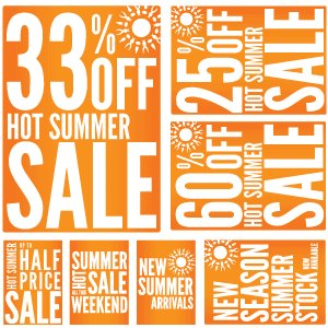 Free Summer Promotion Sale Printables