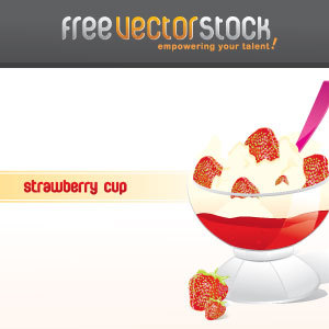 Free Strawberry Icecream