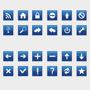 Free Blue Icons