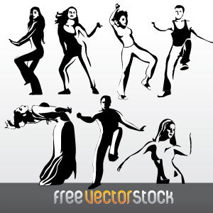 Free Dance Collection Vector
