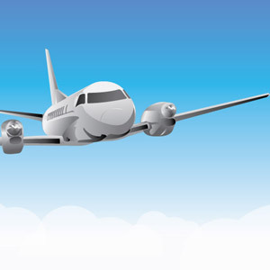 Free Flying Plane