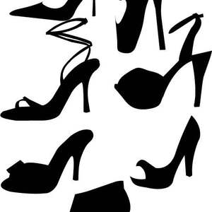 Free Heels Vectors