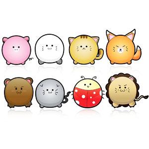 Free Cute Animals Vector