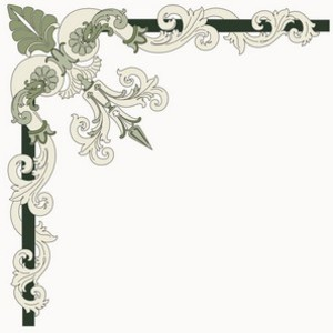 Free Corner Ornament - Italian Style