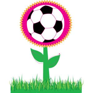 Free Soccer Flower