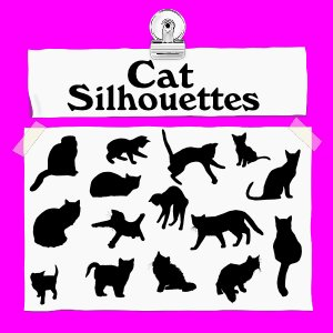 Free Cat Silhouettes