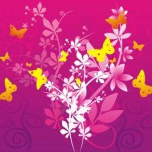 Free Flowers & Butterflies