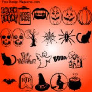 Free Halloween Vectors Part 2