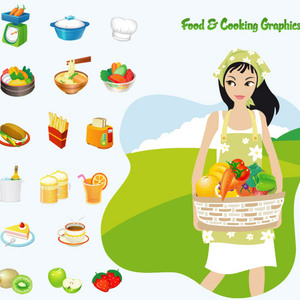 Free Vectors: Food And Cooking | Http://www.dapino-colada.nl