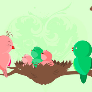 Free Baby Birds Are Born