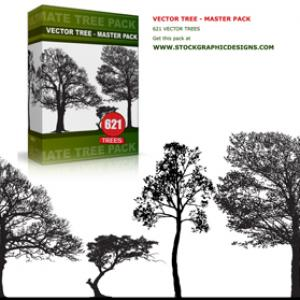 Free Vector Tree Master Pack