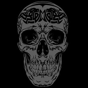 Free Tribal Vector Skull