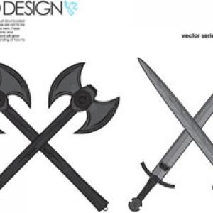 Free War Tools Axes And Swords