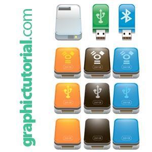 Free Usb Flash Drive Icons