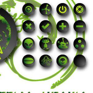Free Alien Icon Vectors