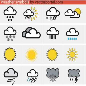 Free Weather Symbols