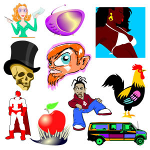 Free Free Cartoon Characters From Procaroonznet