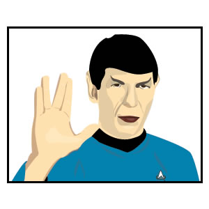 Free Spock Vector