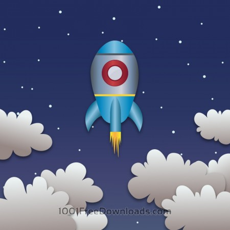 Free Space rocket launch