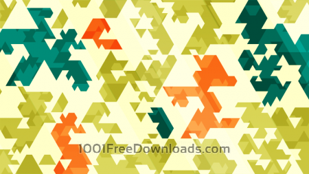 Free Spiky Abstract Triangles