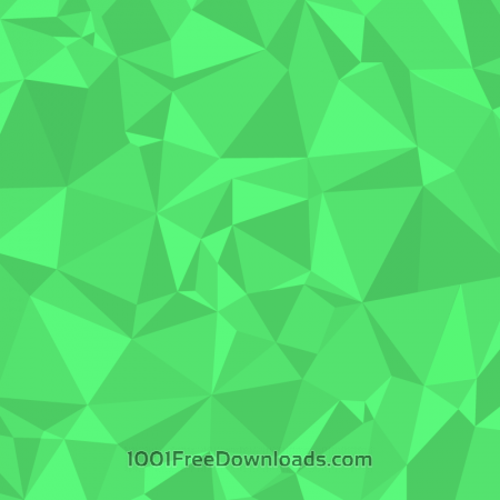 Free Green Polygons