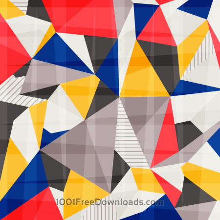Free Colorful Abstract Polygons