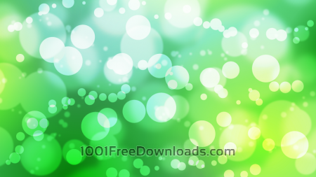Free Busy Green Bokeh