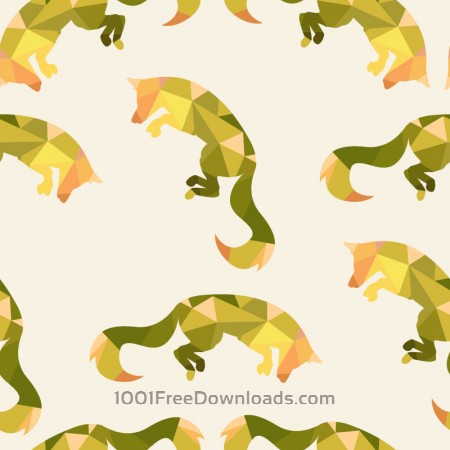 Free Animal pattern with fox