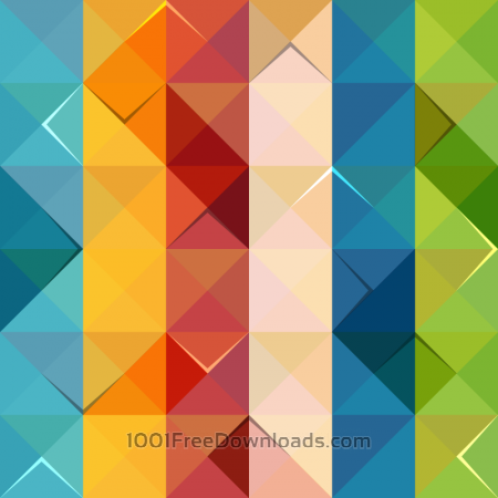 Free Colorful Triangle Pattern