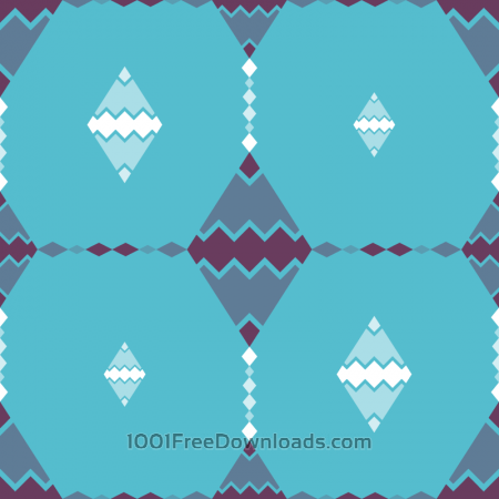 Free Abstract Zig Zag Pattern