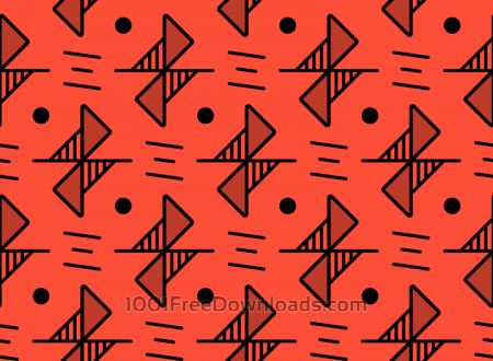 Free Red Line Pattern
