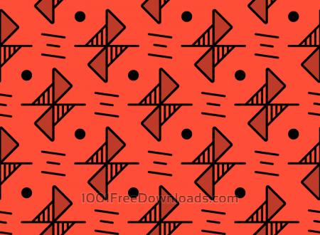 Free Red Line Pattern