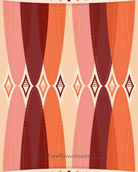 Free Retro Wallpaper Pattern