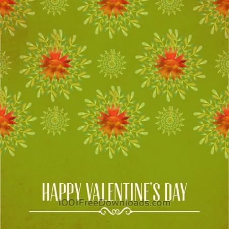 Free Happy Valentine's Day vector illustration