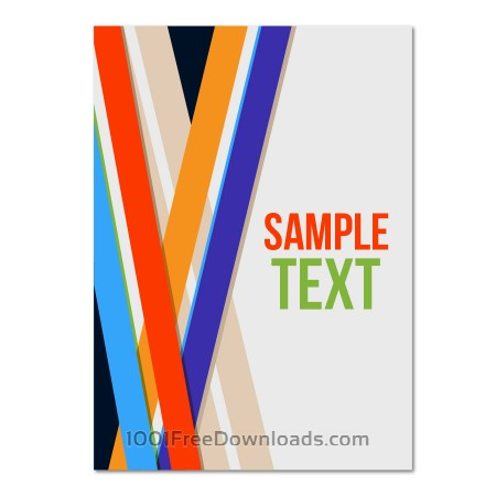 Free  Vector poster