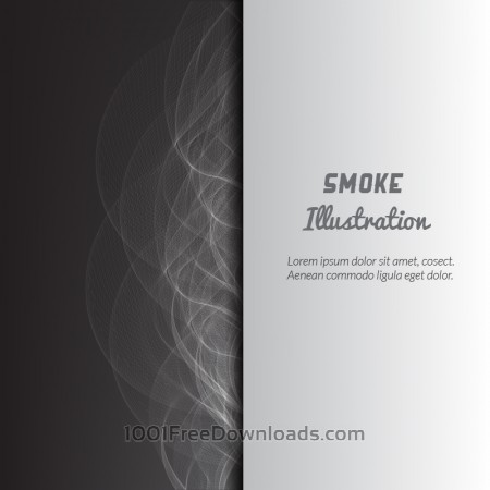 Free Smoke vector illustration