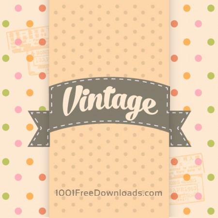 Free Vintage Template Background