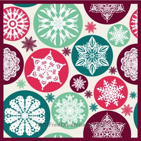 Free Christmas snowflake pattern.