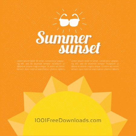 Free Summer background with text