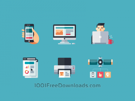 Free Internet & Computers icons