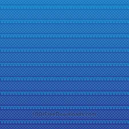 Free Blue Geometric Pattern