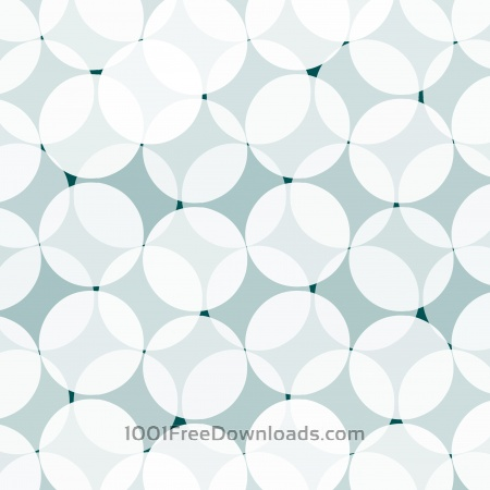 Free abstract blue circle pattern background