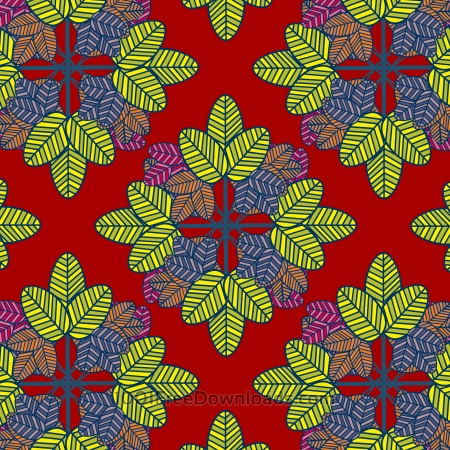 Free abstract color leaf pattern background