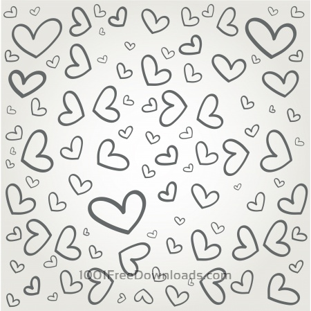 Free Vector pattern with some text for wedding or birthday