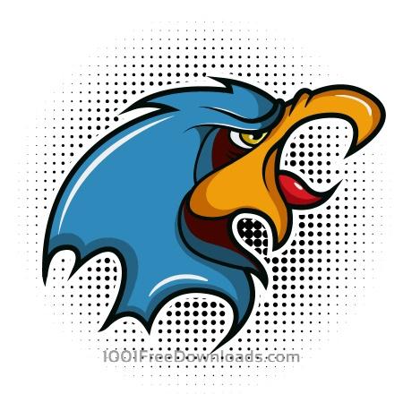 Free Bird vector mascot
