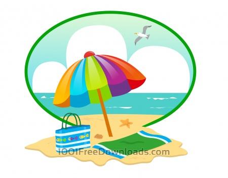 Free Summer Beach Day