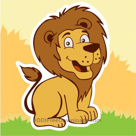 Free Smiling lion