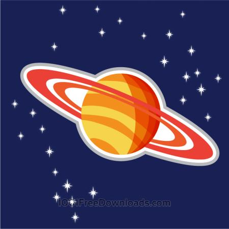 Free Illustration of Saturn planet